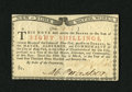 Colonial Notes:New York, New York March 5 ,1776 (Water Works) 8s Choice About New+++. Asingle faint centerfold is all that keeps this bright and wel...