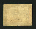 Colonial Notes:Pennsylvania, Pennsylvania October 3, 1773 18d Fine-Very Fine. A little too muchwear is seen on this attractive colonial note to allow fo...