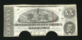Confederate Notes:1863 Issues, T58 $20 1863. Two half moon cancels have been made through thesignatures. About Uncirculated, HOC....