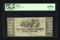 Obsoletes By State:North Carolina, Raleigh, NC- State of North Carolina $3 Jan. 1, 1863. This is a well preserved example from this state issue. The edges are ...