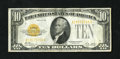 Small Size:Gold Certificates, Fr. 2400 $10 1928 Gold Certificate. Very Fine-Extremely Fine+++.. A lovely example of this gold note type that is utterly or...
