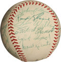 Autographs:Baseballs, 1956 Pittsburgh Pirates Team Signed Baseball....