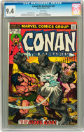 Bronze Age (1970-1979):Miscellaneous, Conan the Barbarian #36 (Marvel, 1974) CGC NM 9.4 White pages....