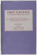 Books:Books about Books, Edward N. Zempel and Linda A. Verkler [editors]. First Editions: A Guide to Identification. Peoria: Spoon River Pres...