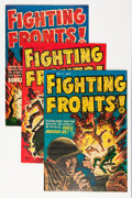 Golden Age (1938-1955):Miscellaneous, Harvey Golden Age War-Related Comics File Copy Group (Harvey, 1950s-60s) Condition: Average VF.... (Total: 15 Comic Books)