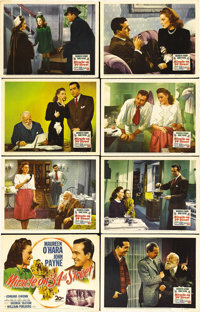 """Miracle on 34th Street (20th Century Fox, 1947). Lobby Card Set of 8 (11"""" X 14""""). In one of the most beloved C..."""