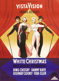 """Movie Posters:Musical, White Christmas (Paramount, 1954). Danish Poster (24"""" X 33.5""""). This Danish 1954 original poster features very different art..."""