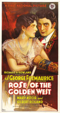 """Movie Posters:Comedy, Rose of the Golden West (First National, 1927). Three Sheet (41"""" X81""""). In the days of Spanish California, Mary Astor has t..."""
