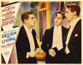 """Movie Posters:Comedy, Design for Living (Paramount, 1933). Lobby Card (11"""" X 14""""). Thisis a wonderful card from Ernst Lubitsch's adaptation of No..."""
