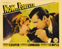 "Now and Forever (Paramount, 1934). Lobby Card (11"" X 14""). Gary Cooper portrays a jewel thief who's down on hi..."