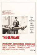"Movie Posters:Comedy, The Graduate (United Artists, 1968). International One Sheet (27"" X 41""). Dustin Hoffman became an overnight sensation after..."