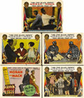 "Movie Posters:Comedy, Why Bring That Up? (Paramount, 1929). Title Lobby Card and LobbyCards (4) (11"" X 14""). Moran and Mack, two white comics who...(Total: 5 Items)"