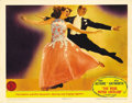 "Movie Posters:Comedy, You Were Never Lovelier (Columbia, 1942). Lobby Card (11"" X 14"").Fred Astaire and Rita Hayworth appear on this fantastic lo..."