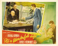 "Movie Posters:Drama, It's a Wonderful Life (RKO, 1946). Lobby Card (11"" X 14""). Materialfor this classic Frank Capra film is always a delight to..."