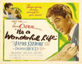 "Movie Posters:Drama, It's a Wonderful Life (RKO, 1946). Title Lobby Card (11"" X 14""). Frank Capra's classic film is considered by most movie fans..."