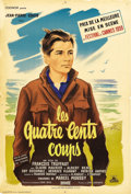 "Movie Posters:Foreign, The 400 Blows (Cocinor, 1959). French Petite (16"" X 23""). FrancoisTruffaut's first feature film was this 1959 portrait of A..."