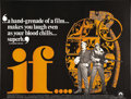 """Movie Posters:Drama, If... (Paramount, 1968). British Quad (30"""" X 40""""). This 1968 cultfilm by British director Lindsay Anderson was based on Dav..."""