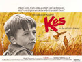 "Movie Posters:Drama, Kes (United Artists, 1969). British Quad (30"" X 40""). Britishfilm-maker Ken Loach captures the hopelessness of the British ..."