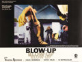 "Movie Posters:Thriller, Blow-Up (MGM, 1967). British Quad (30"" X 40""). Italian directorMichelangelo Antonioni directs a young Vanessa Redgrave and ..."