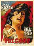 "Movie Posters:Drama, Volcano (Artisti Associati, 1953). French Grande (47"" X 63""). Anna Magnani stars in this story of a hooker who tries to rede..."