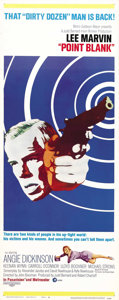 "Movie Posters:Crime, Point Blank (MGM, 1967). Insert (14"" X 36""). Cool image of LeeMarvin for this ground-breaking crime film. Unfolded poster h..."