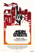 "Movie Posters:Crime, Mean Streets (Warner Brothers, 1973). One Sheet (27"" X 41"").Director Martin Scorsese and Robert DeNiro collaborated for the..."
