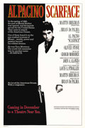 """Movie Posters:Crime, Scarface (Universal, 1983). One Sheet (27"""" X 41"""") Advance. Directedby Brian DePalma, this film is a remake of the 1932 film..."""