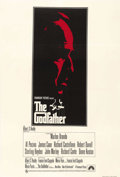 "Movie Posters:Crime, The Godfather (Paramount, 1972). British One Sheet (27"" X 40"").Under the direction of Francis Ford Coppola, Marlon Brando, ..."