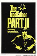 "Movie Posters:Academy Award Winner, The Godfather Part II (Paramount, 1974). One Sheet (27"" X 41"")Advance. Francis Ford Coppola's brilliant follow-up to his im..."