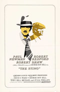 "Movie Posters:Crime, The Sting (Universal, 1974). International One Sheet (27"" X 41"").Robert Redford and Paul Newman star as two grifters who fo..."