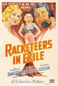 "Movie Posters:Crime, Racketeers in Exile (Columbia, 1937). One Sheet (27"" X 41"").Columbia was known as a ""poverty row"" studio in the thirties an..."