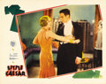"""Movie Posters:Crime, Little Caesar (Warner Brothers, 1931). Lobby Card (11"""" X 14""""). """"Mother of Mercy, is this the end of Rico?"""" The immortal fina..."""