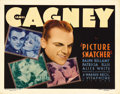 "Movie Posters:Crime, Picture Snatcher (Warner Brothers, 1933). Title Lobby Card (11"" X14""). James Cagney stars as an ex-con who decides to go st..."