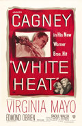 "Movie Posters:Crime, White Heat (Warner Brothers, 1949). One Sheet (27"" X 41""). One ofthe greatest crime films of the 1940s, with an outstanding..."