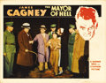 "Movie Posters:Crime, Mayor of Hell (Warner Brothers, 1933). Lobby Card (11"" X 14"").James Cagney stars as the warden of a boys reform school in t..."