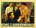 "Movie Posters:Crime, King of the Underworld (Warner Brothers, 1939). Lobby Card (11"" X14""). Kay Francis stars as a doctor forced into helping a ..."