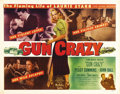"Movie Posters:Film Noir, Gun Crazy (United Artists, 1949). Half Sheet (22"" X 28""). Based ona Saturday Evening Post article by MacKinlay Kantor, ..."