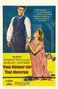 """Movie Posters:Film Noir, The Night of the Hunter (United Artists, 1955). One Sheet (27"""" X 41""""). This dark film noir has Robert Mitchum portraying..."""