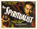 "Movie Posters:Fantasy, The Spiritualist (Eagle Lion, 1948). Half Sheet (22"" X 28""). Turhan Bey stars as a rather convincing medium trying to con a ..."