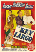 "Movie Posters:Film Noir, Key Largo (Warner Brothers, 1948). Australian One Sheet (27"" X40""). Humphrey Bogart stars for the last time with his long-t..."