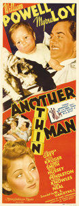 "Movie Posters:Comedy, Another Thin Man (MGM, 1939). Insert (14"" X 36""). This was thethird entry in the ""Thin Man"" series, that once again starred..."