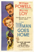 "Movie Posters:Mystery, The Thin Man Goes Home (MGM, 1945). One Sheet (27"" X 41""). Thisentry was the fifth in the always favorite ""Thin Man"" series..."