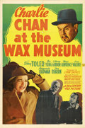 """Movie Posters:Mystery, Charlie Chan at the Wax Museum (20th Century Fox, 1940). One Sheet (27"""" X 41""""). Sidney Toler stars in another adventure as t..."""