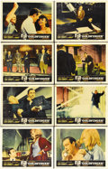 "Movie Posters:James Bond, Goldfinger (United Artists, 1964). Lobby Card Set of 8 (11"" X 14""). Perhaps the best film in the long-running James Bond ser... (Total: 8 Items)"