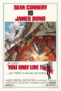 "Movie Posters:James Bond, You Only Live Twice (United Artists, 1967). One Sheet (27"" X 41"")Style A. Sean Connery, as James Bond, takes on the forces ..."