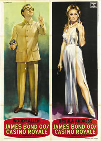 """Casino Royale (Columbia, 1967). Italian 4 - Folio (3) (55"""" X 78""""). Columbia Pictures bought the rights to Ian..."""