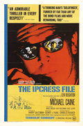 "Movie Posters:Action, The Ipcress File (Rank, 1965). One Sheet (27"" X 41""). This was thefirst of the British-made Michael Caine/Harry Palmer spy ..."
