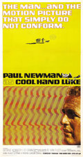 "Movie Posters:Drama, Cool Hand Luke (Warner Brothers, 1967). Three Sheet (41"" X 81"").Paul Newman, known for his cool swagger in such films as ""T..."