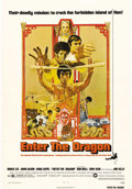 """Movie Posters:Action, Enter the Dragon (Warner Brothers, 1973). One Sheet (27"""" X 41"""").Bruce Lee's best and most popular kung fu action epic featu..."""