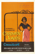 "Movie Posters:Black Films, Carmen Jones (20th Century Fox, 1954). One Sheet (27"" X 41"").Dorothy Dandridge was the leading black actress of the 1950s a..."